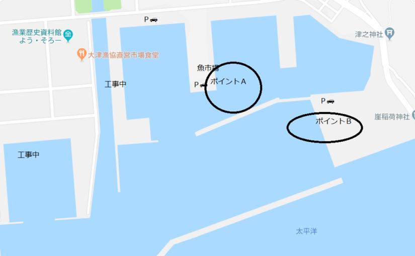狙いはタコ、良型カレイ釣り!! 茨城県最大の釣りポイント【大津港】